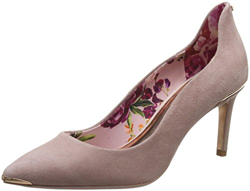 Ted Baker WoMen Vyixyns Closed Toe Heels Pink (Dk Pink #Ffc0cb)