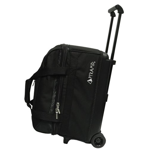 Pyramid Prime Double Roller Bowling Bag (Black) ()