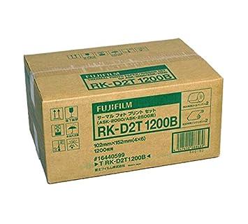 Fujifilm RK-D2T Papel + Ribbon para 1200 Impresiones 10 x 15 ...