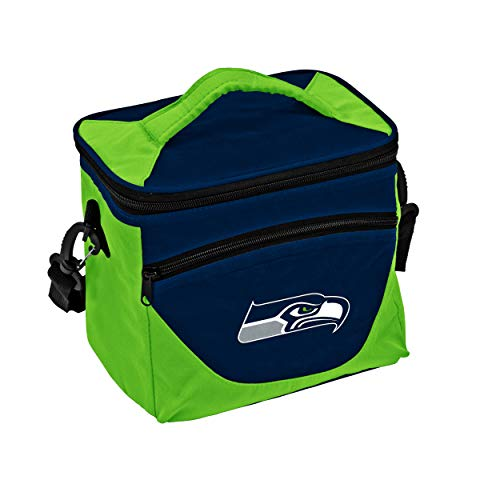 Logo Brands NFL Seattle Seahawks Halftime Lunch Cooler, One Size, Navy