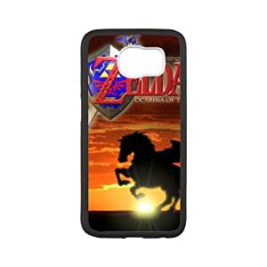 Samsung Galaxy S6 Cell Phone Case Black_The Legend of Zelda Ocarina of Time_013 TR2226854