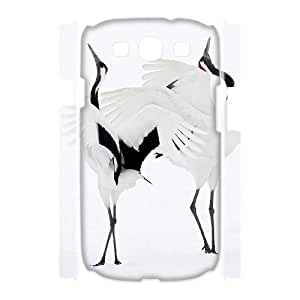 Case Of Red crowned Crane Customized Hard Case For Samsung Galaxy S3 I9300