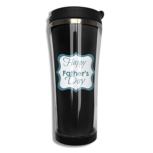 Hfaw Father'ss Day Men Women Outdoors Leisure Travel Mug For Coffee Or Tea Unisex