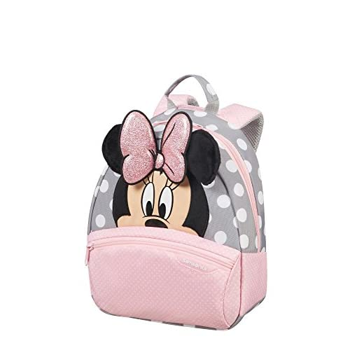 SAMSONITE Disney Ultimate 2.0 - Backpack Small Sac à dos enfants, 28 cm, 7 liters, Multicolore (Minnie Glitter)
