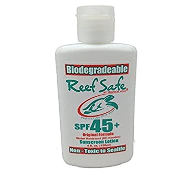 amazon com reef safe biodegradable sunscreen lotion spf 45
