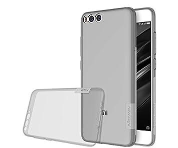 Nillkin Nature - Carcasa protectora trasera de gel / TPU para Xiaomi Mi6 - Gris