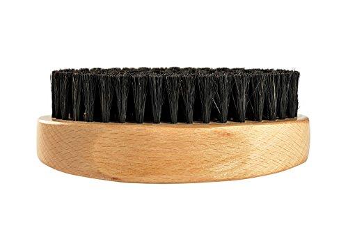 Bartbürste aus Buchenholz mit Wildschweinborsten von Beard Folk, Beard Brush, 10,5x6cm