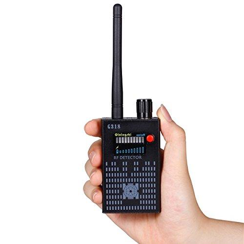 Handed RF Detector Super Anti-spy Bug GPS Camera GPS Tracker Wireless Camera
