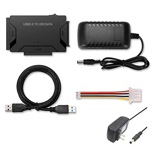 Portable Three Use USB 3.0 to SATA/IDE Wire Adapter Multifunctional Drivable Wire Adapter for USB 3.0 Hard Disk Converter