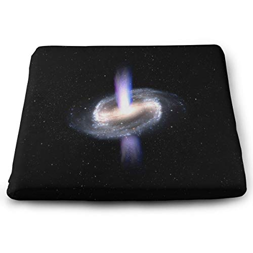 Ladninag Seat Cushion Spiral Galaxy Space Chair Cushion Offices Butt Chair Pads for Cars/Outdoors/Indoor/Kitchens/Wheelchairs