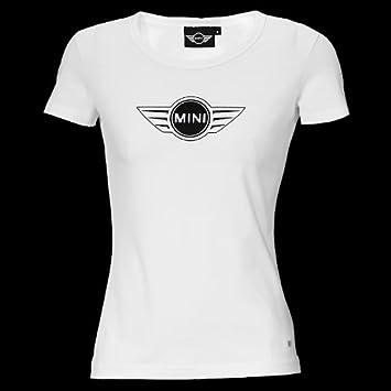 Genuine Mini Cooper Ladies Logo T Shirt White Size Extra Small
