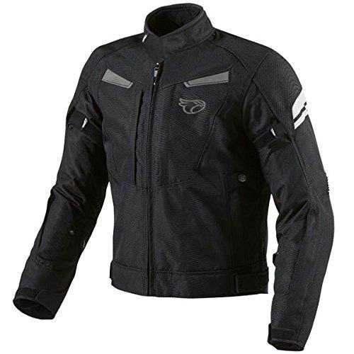 JET Motorcycle Motorbike Jacket Textile Armoured Multi Functional Black (M...
