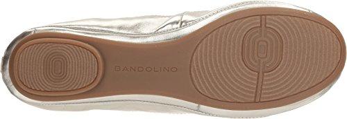 Bandolino Dames Edina Flats Platino / Metallic Nappa / Metallic Pu Lt