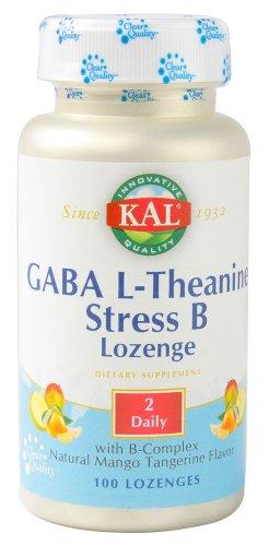 GABA L-Theanine Stress B Lozenge (Mango Tangerine) - 100 - Lozenge