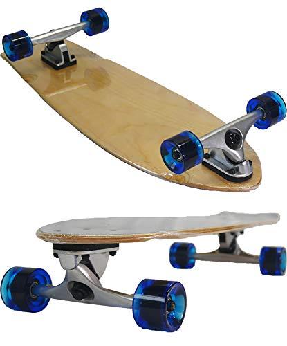서핑 스케이트 보드 컴플리트 갑판 31.5 인치 클리어 블루 클래식 피쉬 / Surf Skateboard Complete deck 31.5 inch Clear blue Classic fish