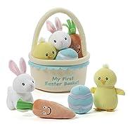 Gund My First Easter Basket Baby Playset
