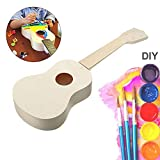 21 inch DIY Ukulele Kit Handwork Hawaii Guitar Musical Instrument Gift for Children and Amateur