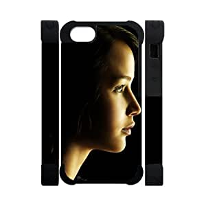 Every New Day The Hunger Games Katniss Everdeen Jennifer Lawrence Unique Custom ipod touch 4 touch 4 or Best Polymer+ Rubber 3D Cover Case