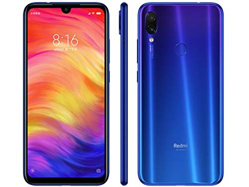 [해외]Xiaomi Redmi Note 7 64GB4GB RAM 6.30`` FHD+ Snapdragon 660 Blue - Unlocked Global Version No Warranty / Xiaomi Redmi Note 7, 64GB4GB RAM, 6.30`` FHD+, Snapdragon 660, Blue - Unlocked Global Version, No Warranty