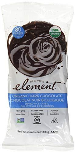 - Element Snacks Organic Rice Cake Dark Chocolate, 3.5 oz