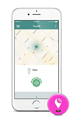 TrackR pixel Bluetooth Tracking Device. Key Tracker. Phone Finder. Wallet Locator
