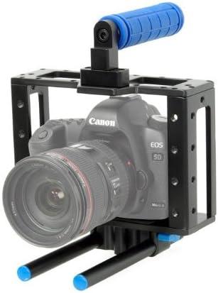 ayex Cámara Cage, cámara Jaula para cámaras réflex como Canon 5d ...