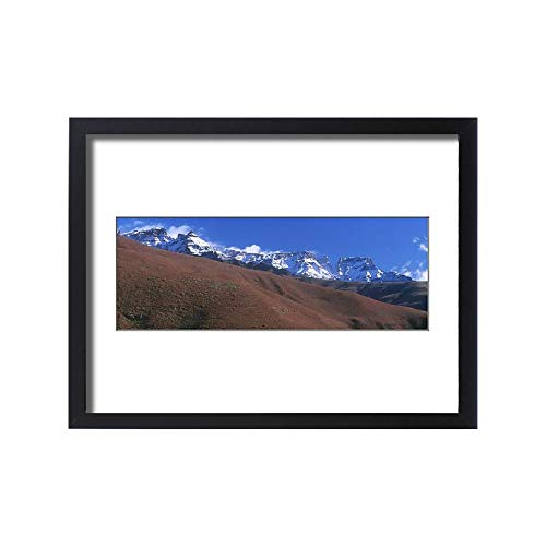 Media Storehouse Framed 24x18 Print of Africa, Cloud, Color Image, Day, Drakensberg Mountain Range (18252321)