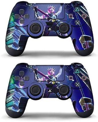 Pegatina Fortnit de 2 pieza para controlador Playstation 4 - Controlador PS4 - Calidad profesional - Juego Fortnit en Playstation - Cut Out (Tema 8): Amazon.es: Videojuegos