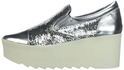KENDALL + KYLIE Women's Tanya Sneaker, Silver, 8 Medium US by KENDALL + KYLIE (Image #5)