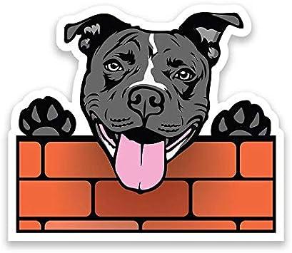 PEGATINA STICKER pitbull perro dog autocollant AUFKLEBER vinyl vinilo decal