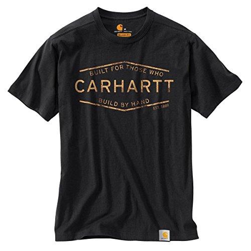 Carhartt Mens 103182 Maddock Graphic Build by Hand Short Sleeve T-Shirt