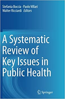 Book A Systematic Review of Key Issues in Public Health