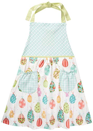 DII Egg Drop Printed Apron, Multi (The Best Egg Drop Design)
