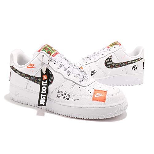 c590b32951ca9 Amazon.com   Nike Men's Air Force 1 '07 Premium JDI White Leather ...