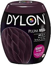 DYLON Textielverf Wasmachine Pods, Plum red