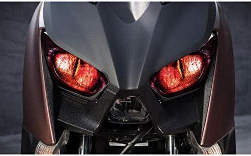 ACAMPTAR Accessoires de Moto Autocollant de de Phare Autocollant de Phare pour Xmax 300 Xmax 250 2017 2018 A