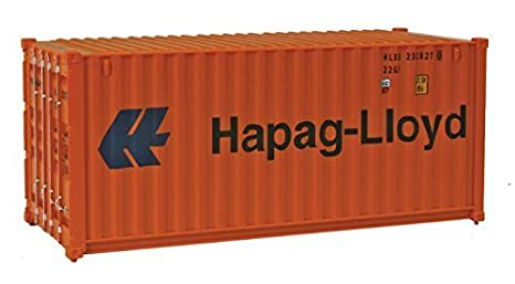 Amazon.com: Walthers SceneMaster RS Hapag-Lloyd Container ...