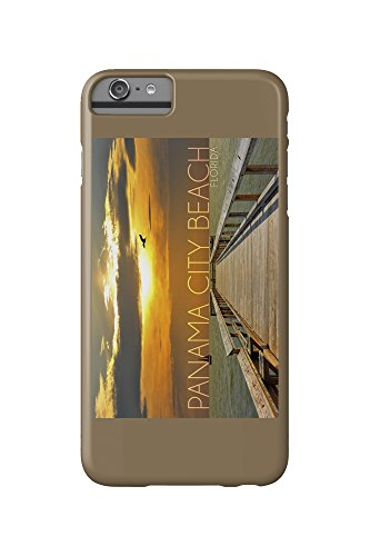 Panama City Beach, Florida - Pier at Sunset (iPhone 6 Plus Cell Phone Case, Slim Barely - Panama City Beach Pier