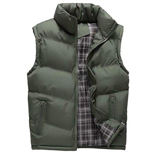 Quilted Side Zip Vest - 9