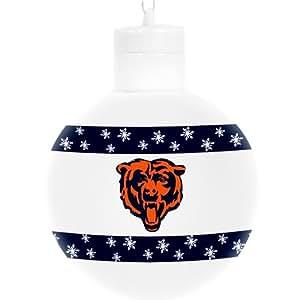 "Chicago Bears NFL Light Up 3"" Ball Ornament"