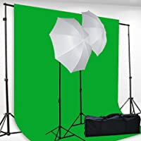 Fancierstudio H69G 6x9-Feet Chromakey Green Screen Kit