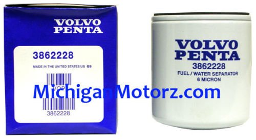 OEM Volvo Penta Fuel / Water Separator Filter