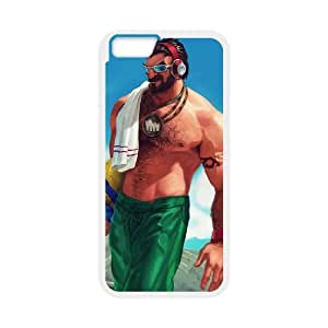 iPhone 6 4.7 Inch Cell Phone Case White League of Legends Pool Party Graves NT2900108