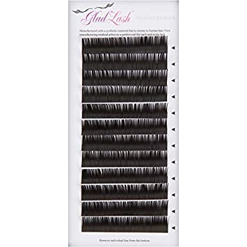 275ac546af4 Signature Mink Eyelash Extensions by Glad Lash | J Curl - 0.15 Thickness |  9mm to