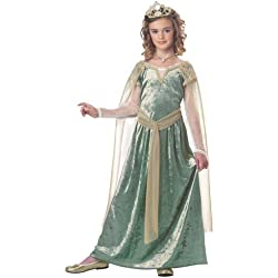 California Costumes Queen Guinevere Child Costume, X-Large