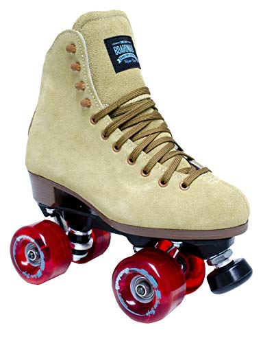 (Sure-Grip Tan Boardwalk Skates (7))