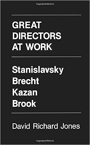 great directors at work jones david richard