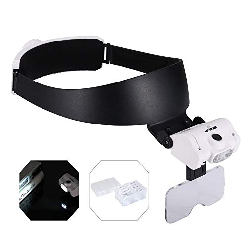 YOCTOSUN Rechargeable Headband Magnifier