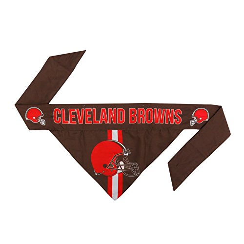 NFL Cleveland Browns Pet Bandanna, Small -