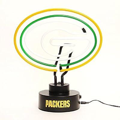 Green Bay Packers Neon Logo Desk Table Lamp Light – Desk Lamp Logo